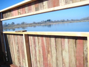 Framing the nesting boxes